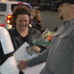 Jennifer & Jason Magill Get Aquainted with a Storm Trooper