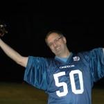 """When You're Hurt, You Cheer"" says long time Pig Bowl Player Joe Davitt"